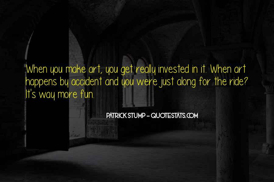 Patrick Stump Quotes #1849261