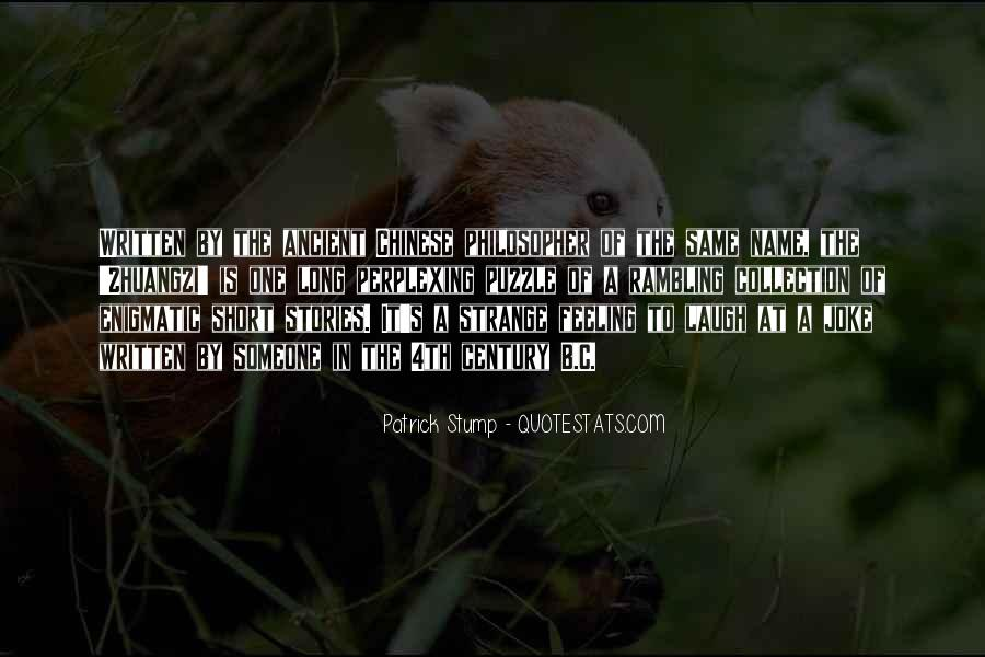Patrick Stump Quotes #386382