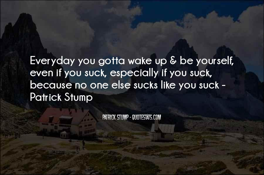 Patrick Stump Quotes #430752