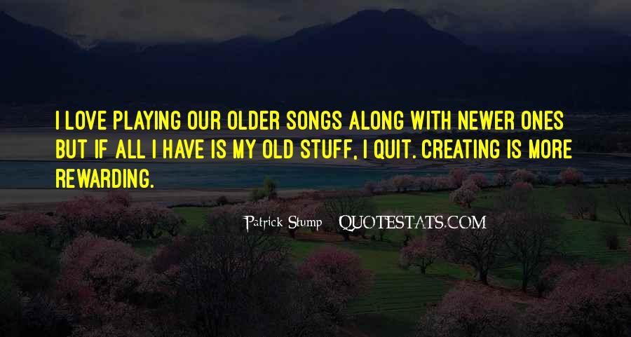 Patrick Stump Quotes #444807