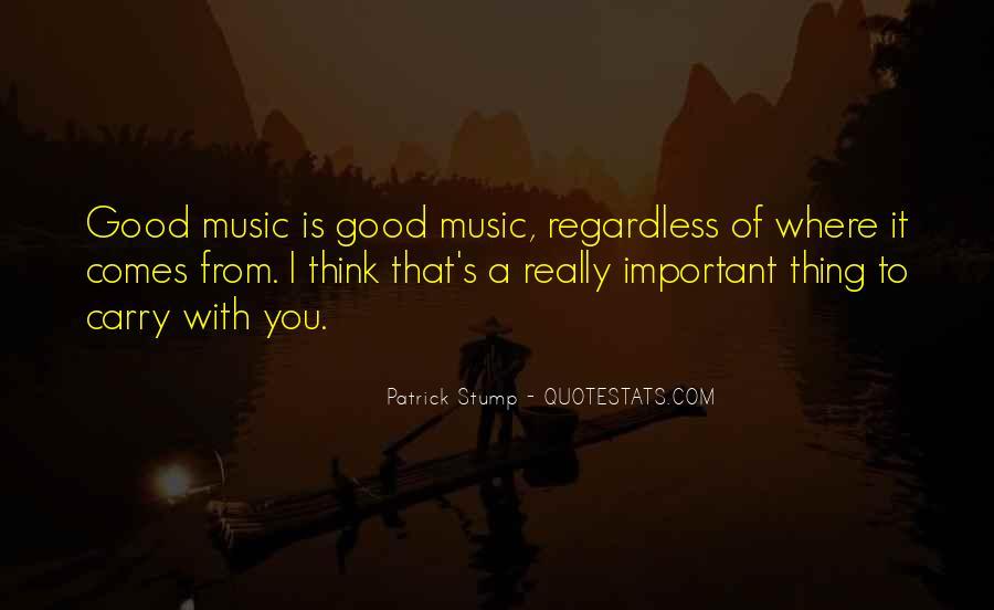Patrick Stump Quotes #512389