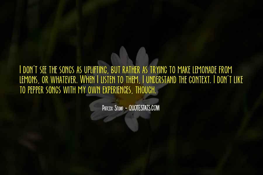 Patrick Stump Quotes #600743