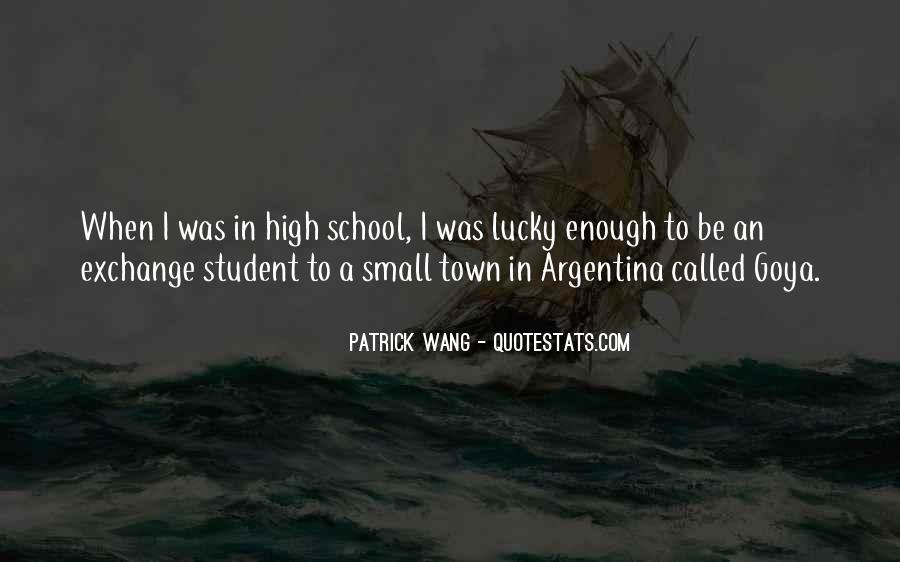 Patrick Wang Quotes #309539
