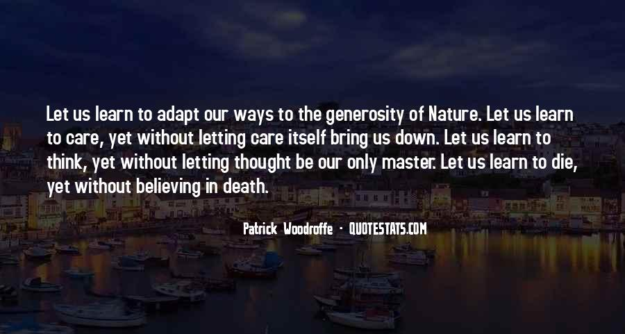 Patrick Woodroffe Quotes #914368
