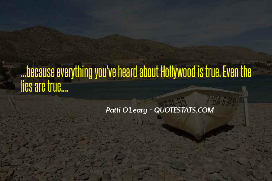 Patti O'Leary Quotes #722212
