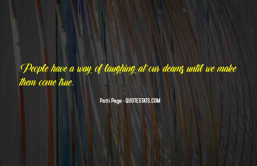 Patti Page Quotes #467129