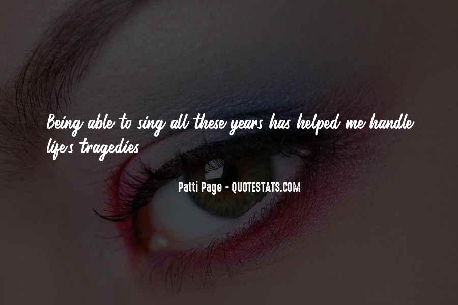 Patti Page Quotes #695564