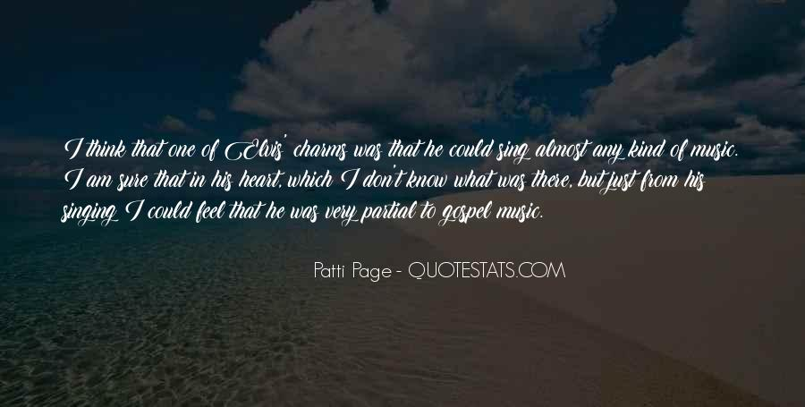 Patti Page Quotes #701920