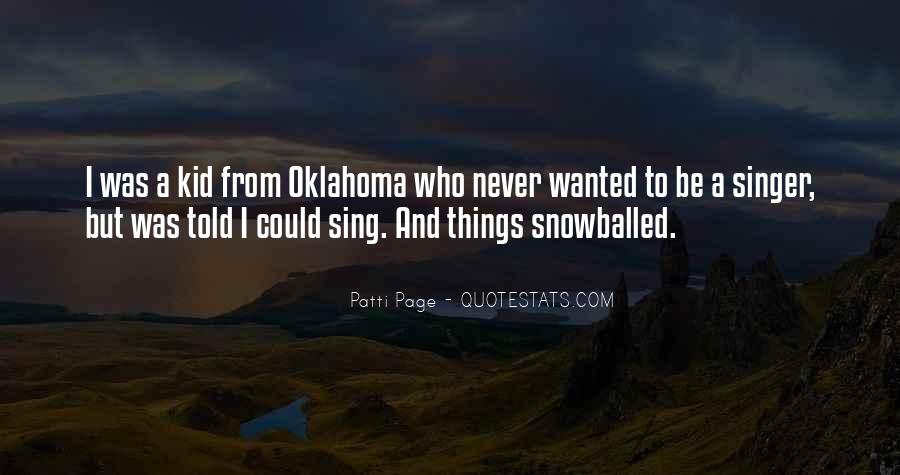 Patti Page Quotes #942548