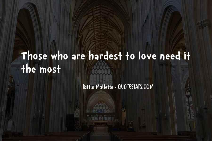 Pattie Mallette Quotes #1582038