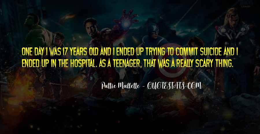 Pattie Mallette Quotes #266923