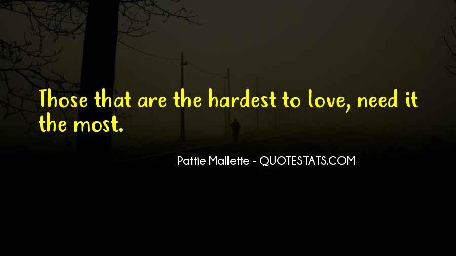 Pattie Mallette Quotes #592017
