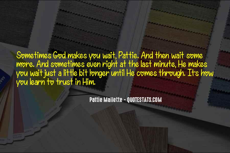 Pattie Mallette Quotes #683619