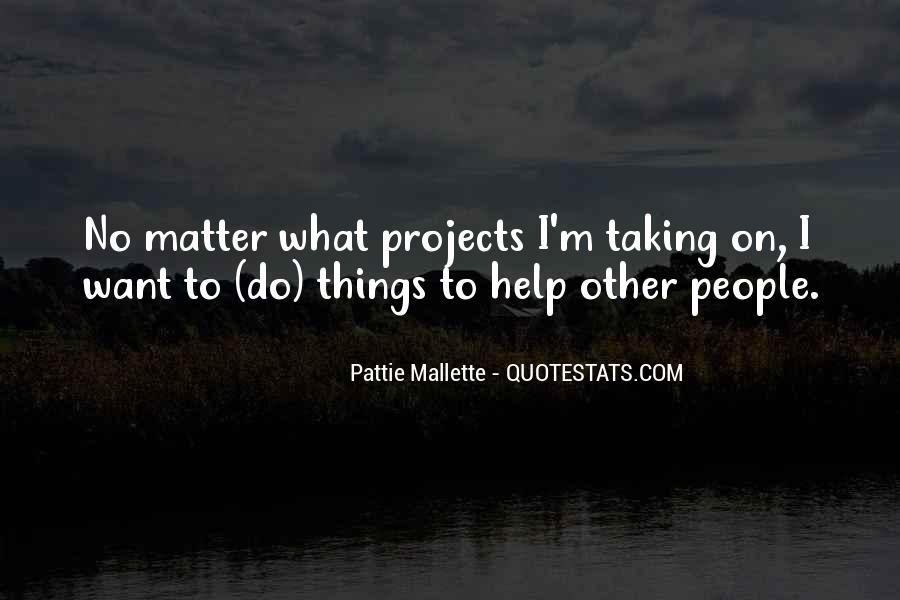 Pattie Mallette Quotes #732258