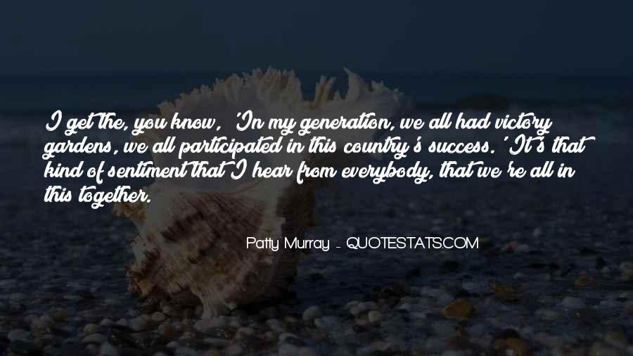 Patty Murray Quotes #100255