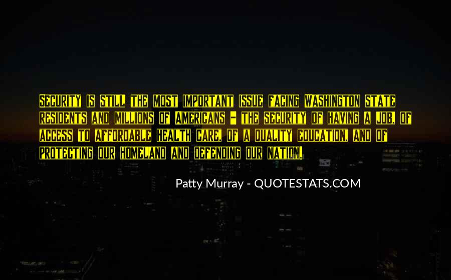 Patty Murray Quotes #1824178