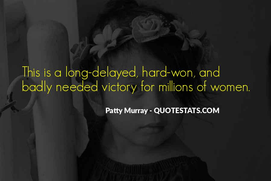 Patty Murray Quotes #762650