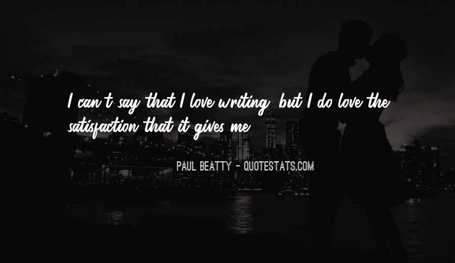 Paul Beatty Quotes #1203216