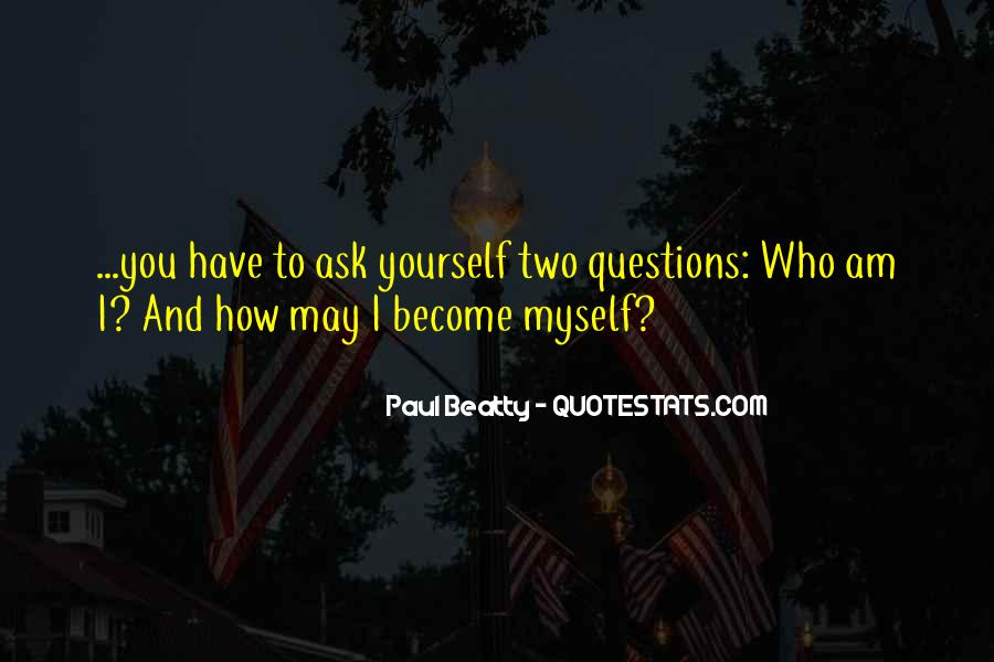 Paul Beatty Quotes #1518325