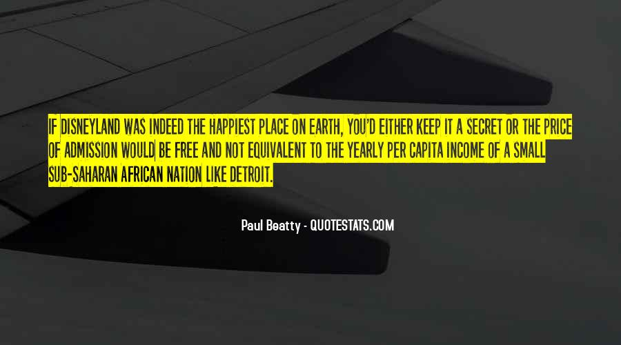 Paul Beatty Quotes #1811893