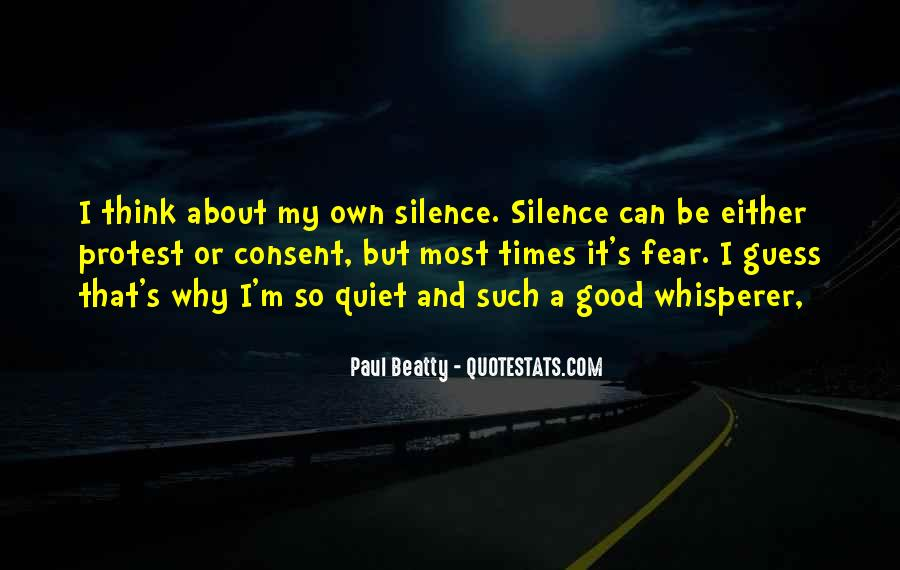 Paul Beatty Quotes #1854317