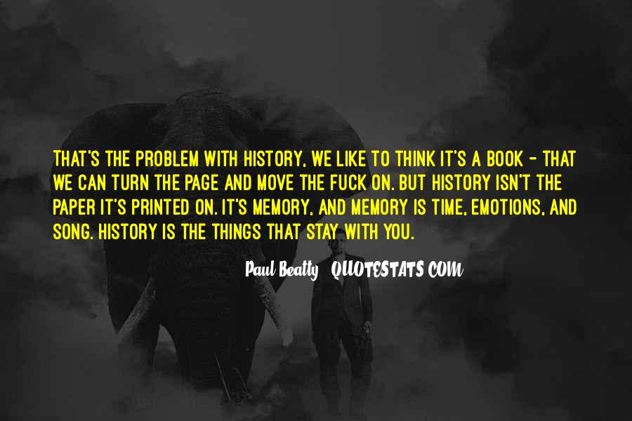 Paul Beatty Quotes #406259