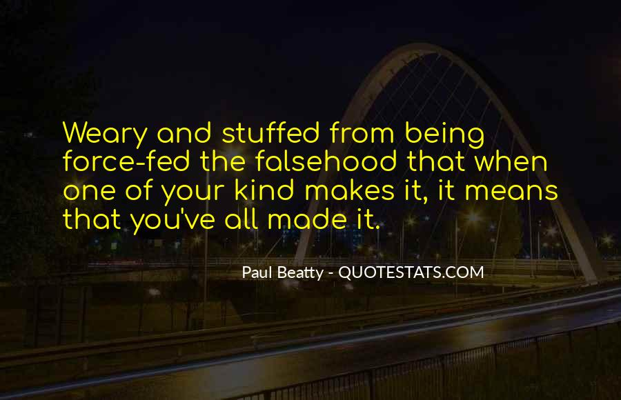 Paul Beatty Quotes #453831