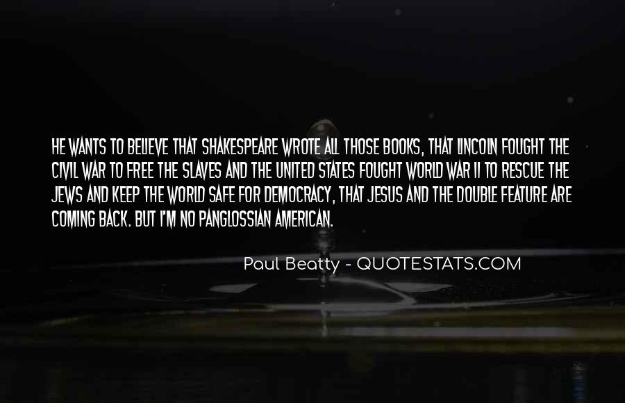 Paul Beatty Quotes #460896