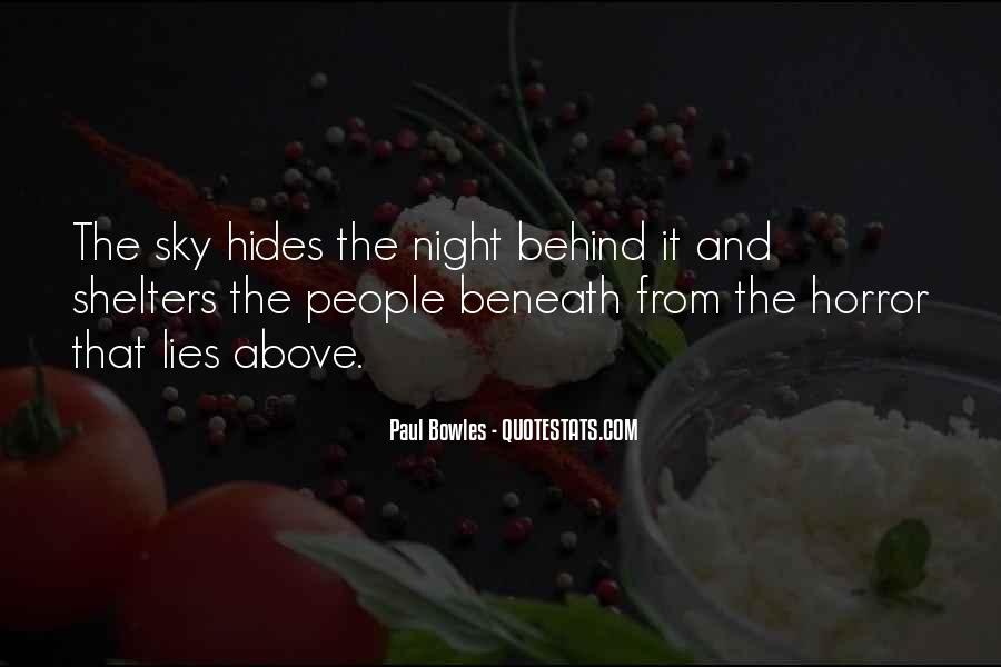 Paul Bowles Quotes #1131919