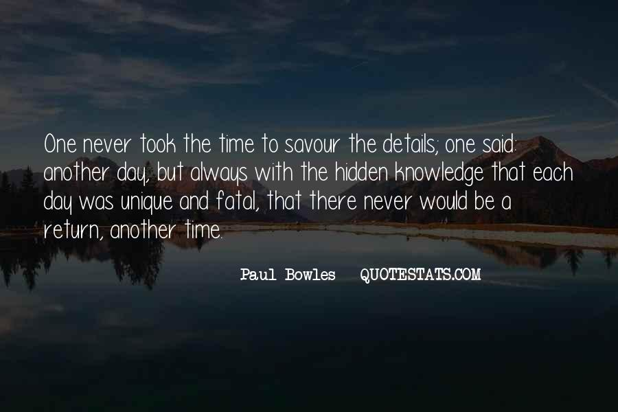 Paul Bowles Quotes #1691963