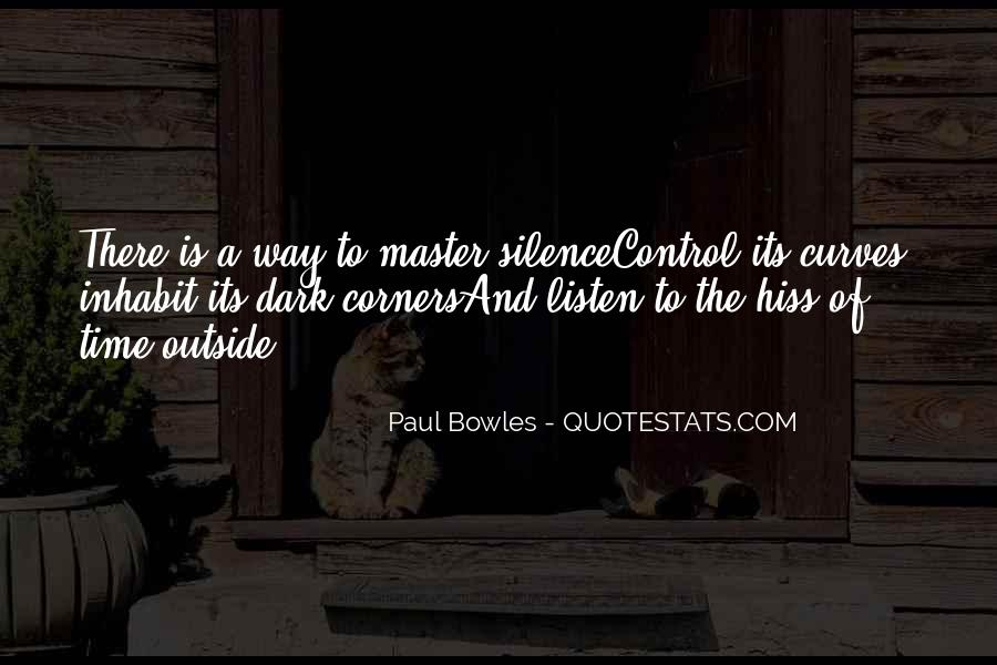 Paul Bowles Quotes #820813