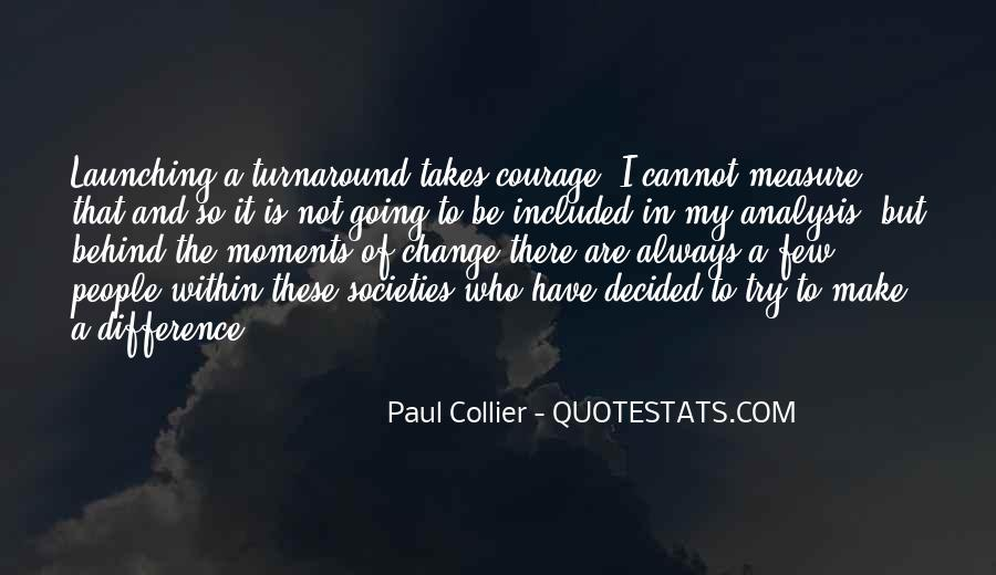 Paul Collier Quotes #1526292