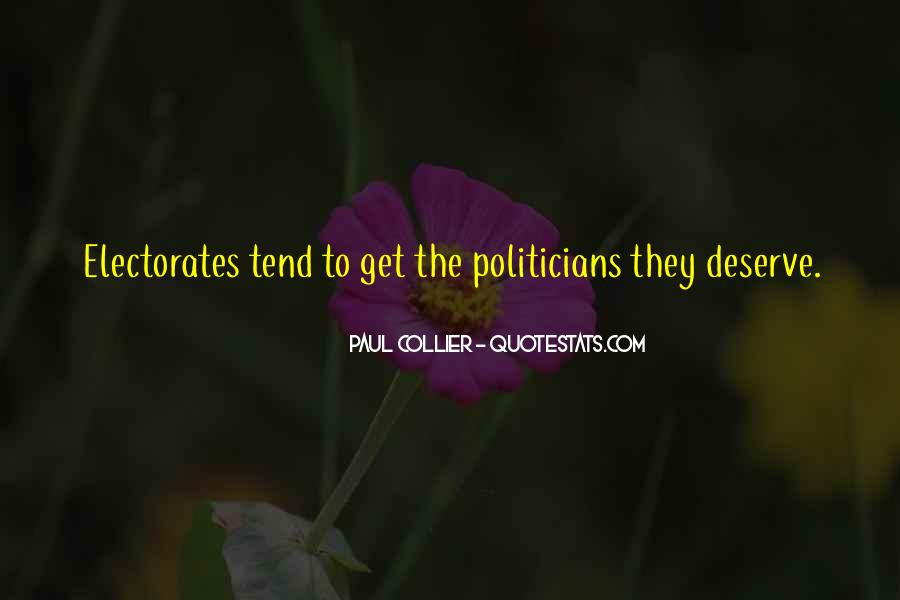 Paul Collier Quotes #278573