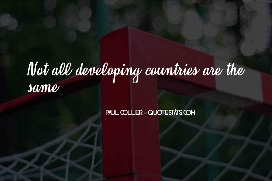 Paul Collier Quotes #853626