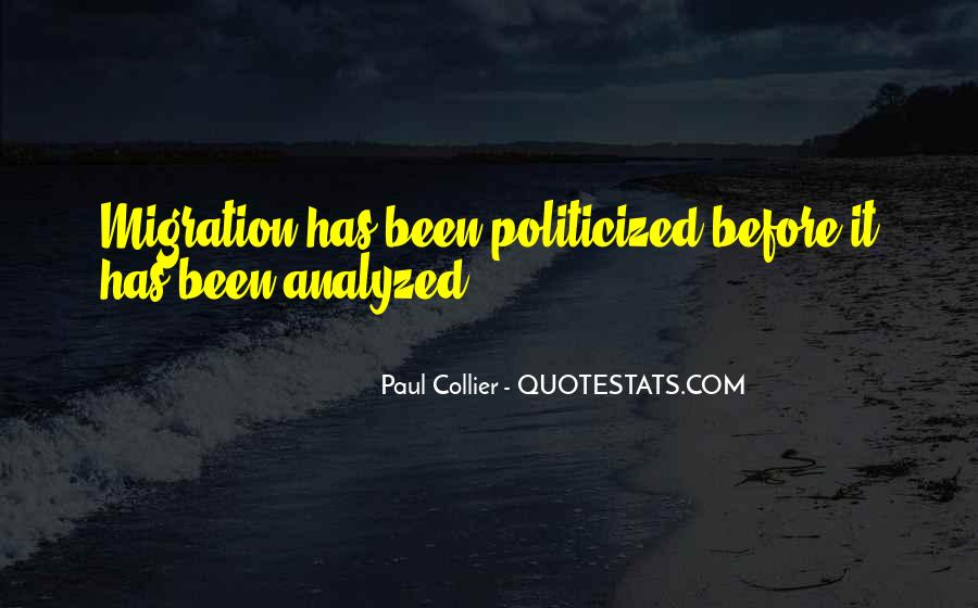 Paul Collier Quotes #957709