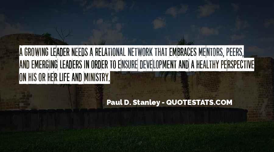 Paul D. Stanley Quotes #1480516