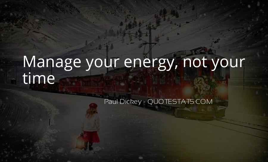 Paul Dickey Quotes #729623