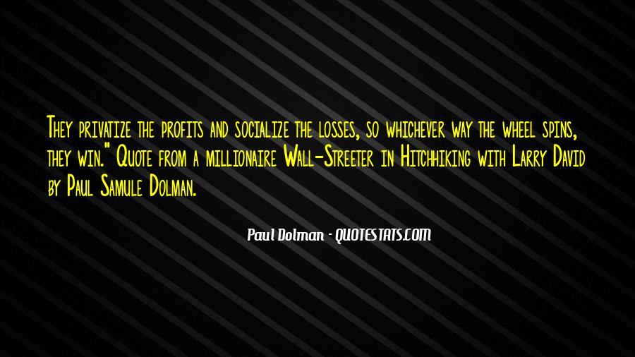Paul Dolman Quotes #1648701