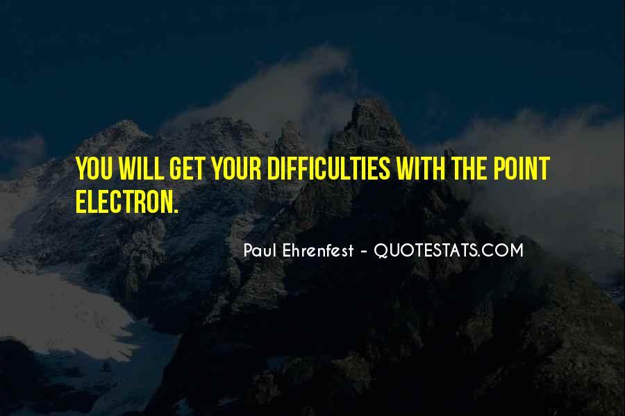 Paul Ehrenfest Quotes #1119078