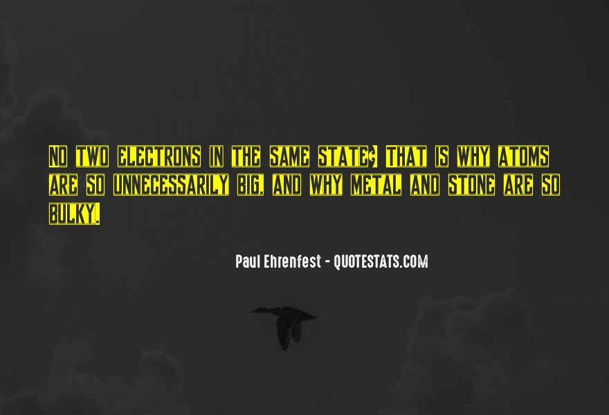 Paul Ehrenfest Quotes #1498226