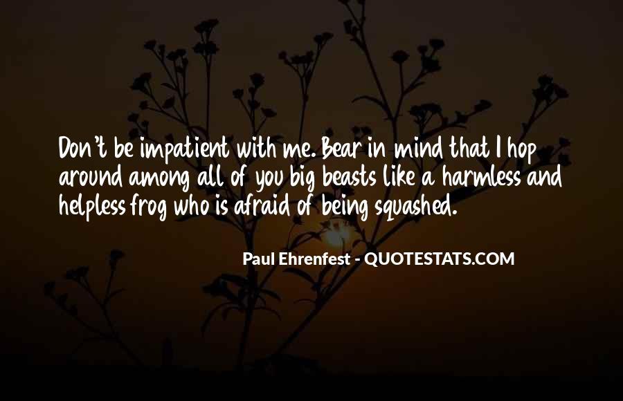 Paul Ehrenfest Quotes #541109