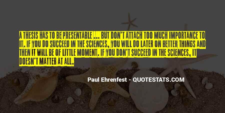 Paul Ehrenfest Quotes #908026