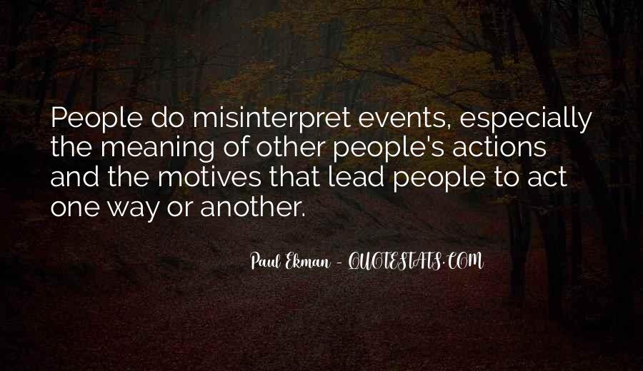 Paul Ekman Quotes #1064747