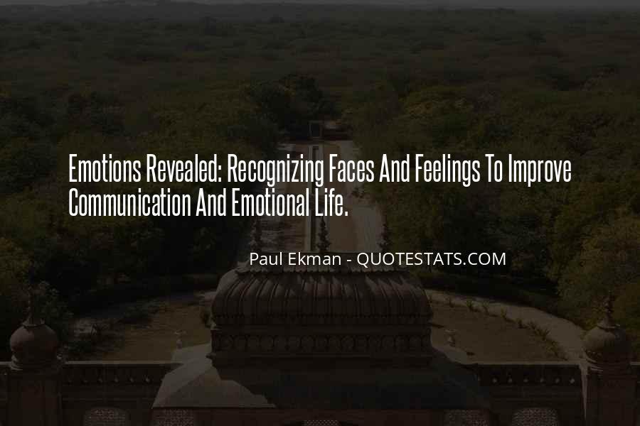 Paul Ekman Quotes #1208081