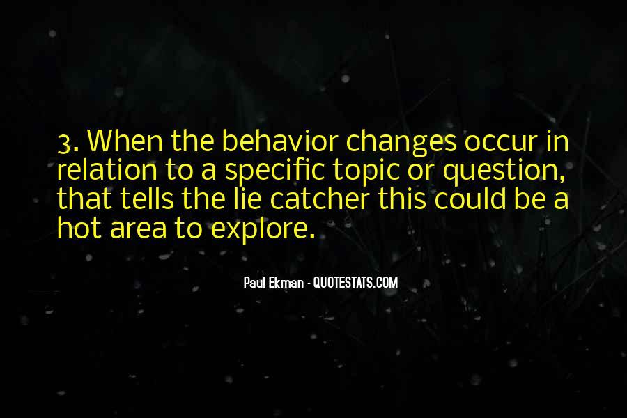 Paul Ekman Quotes #1246154