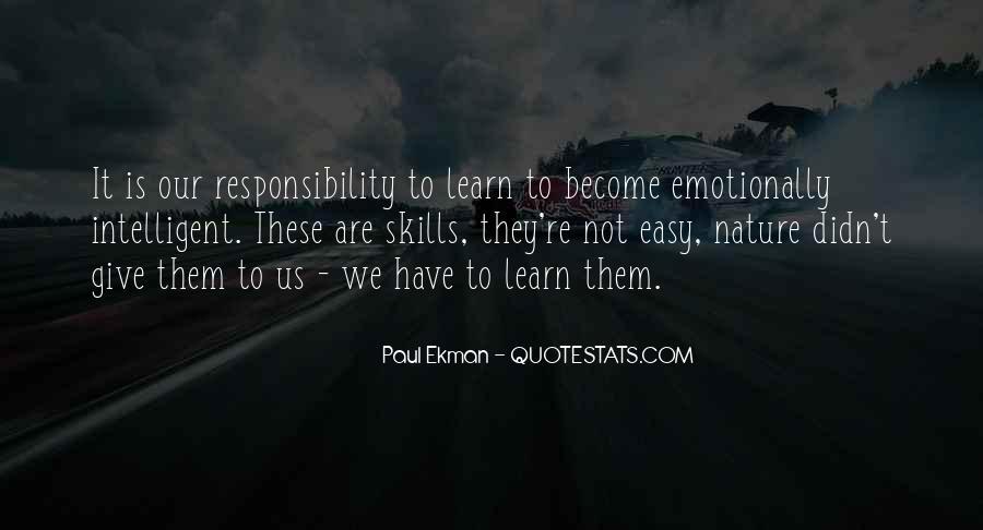 Paul Ekman Quotes #1462449