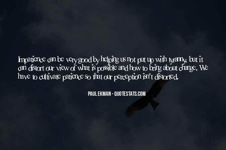 Paul Ekman Quotes #1544387