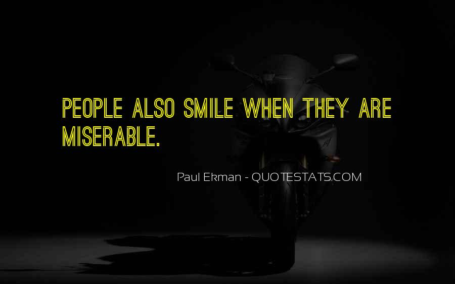 Paul Ekman Quotes #1868972