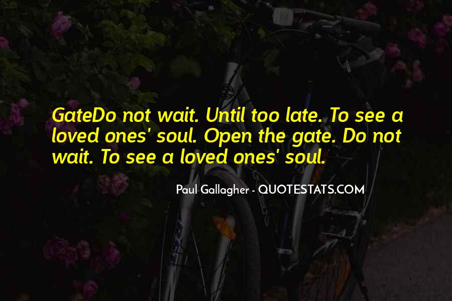 Paul Gallagher Quotes #810521
