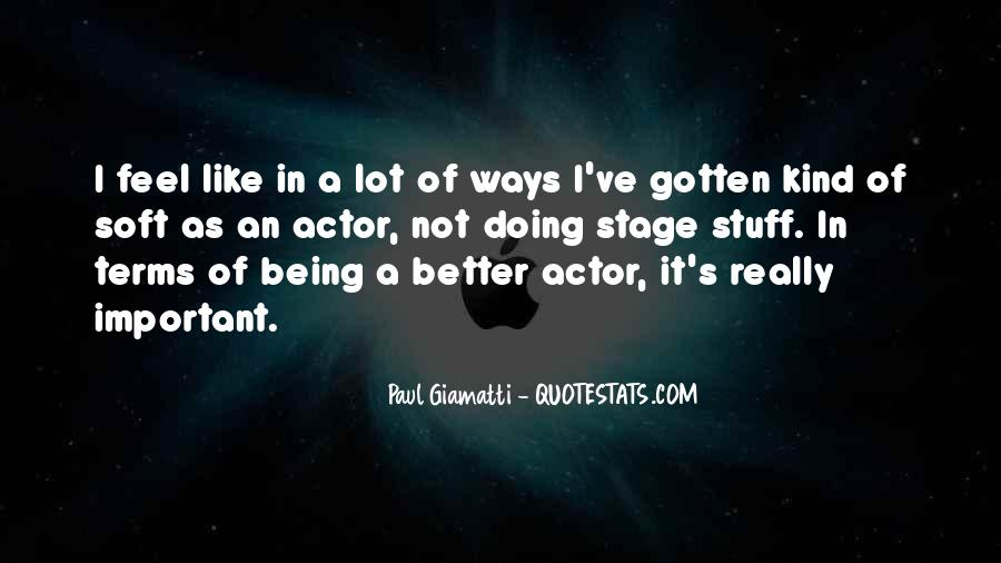 Paul Giamatti Quotes #1861961